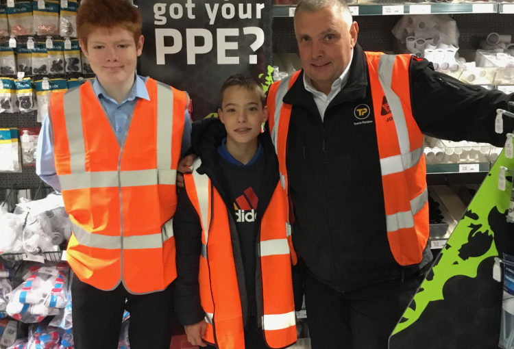 Travis Perkins Visit - November 2019